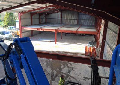 complete mezzanine floor