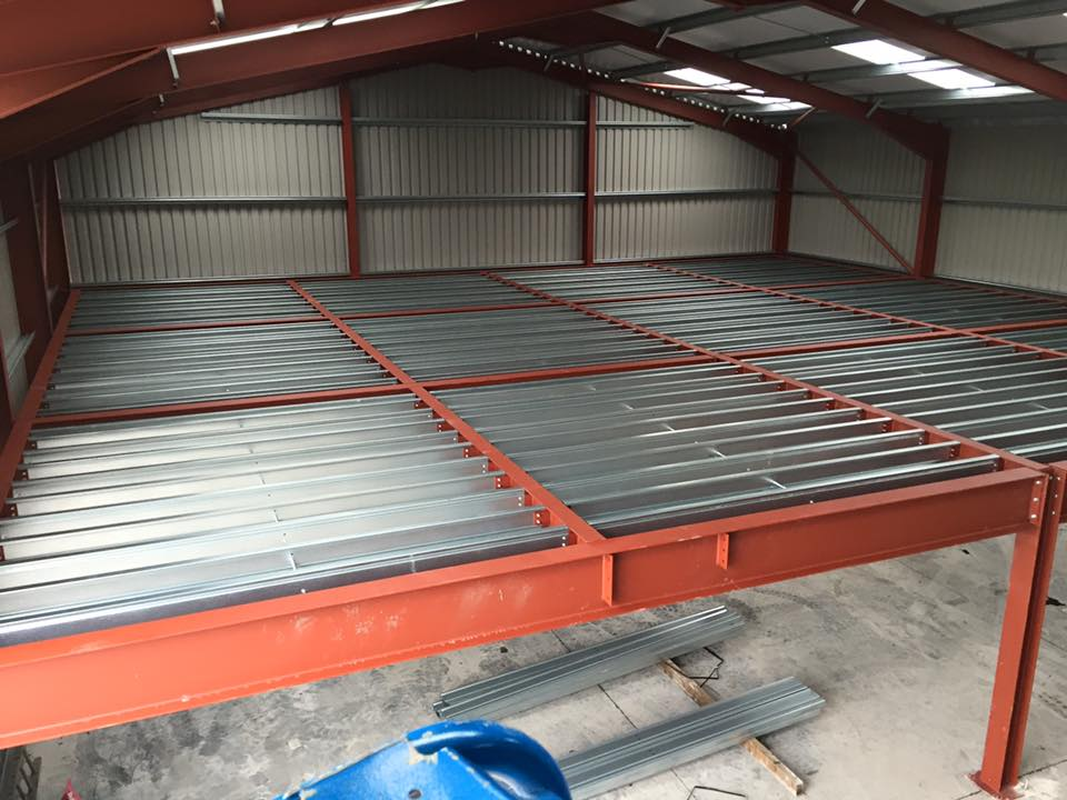 Portal steel framed buildings explained seymour construction for Steel mezzanine design