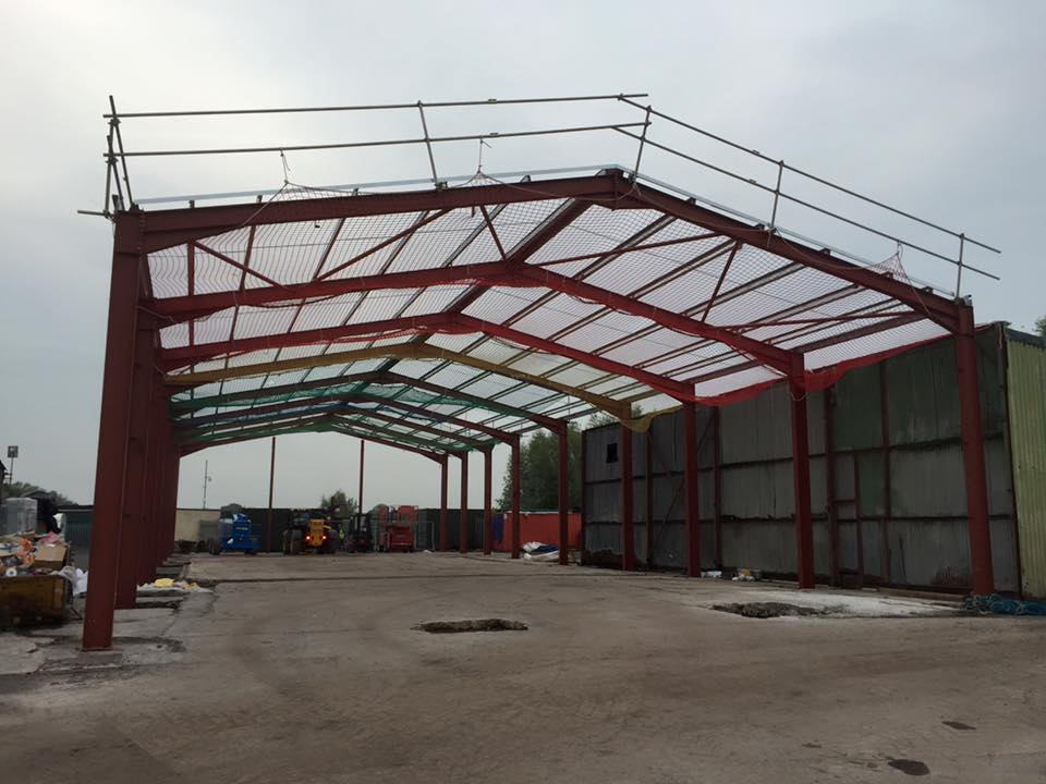 Steel Framed Sheds : Portal steel framed buildings explained seymour construction