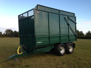 Seymour silage trailer
