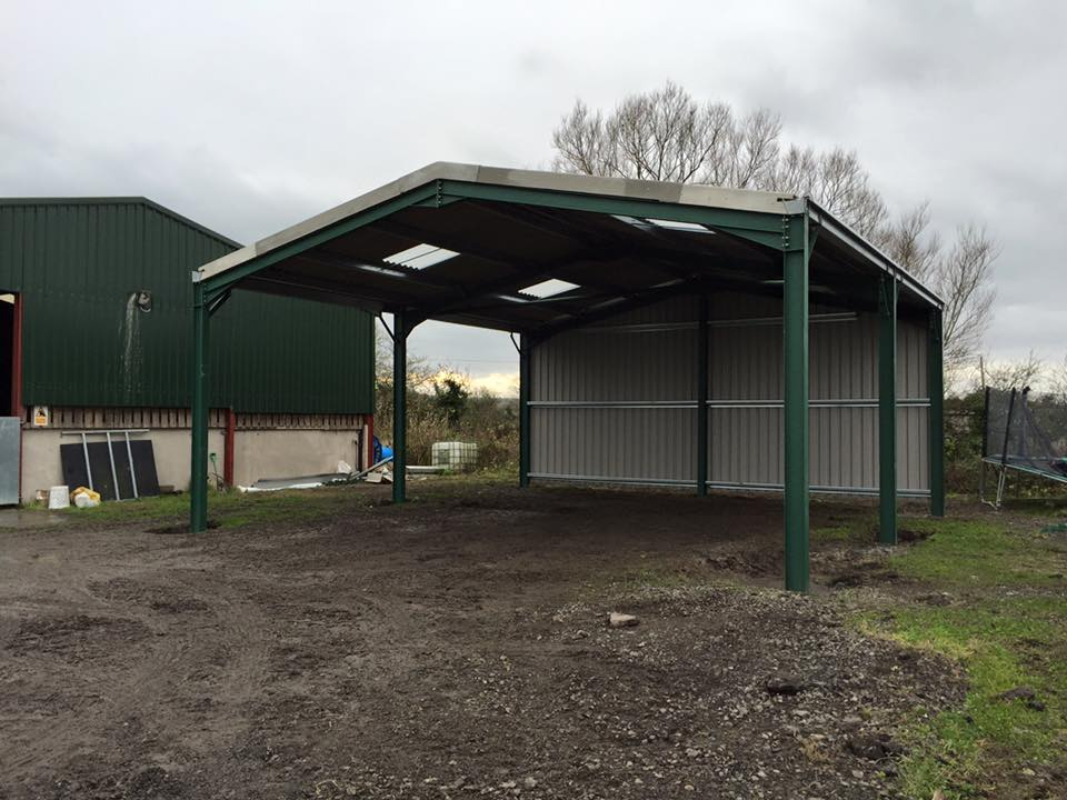 Small Steel Framed Building : Seymour construction steel frame buildings somerset