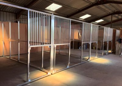 Steel Framed Stables